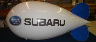 Big Advertising blimps 14ft.- Suzuki logo
